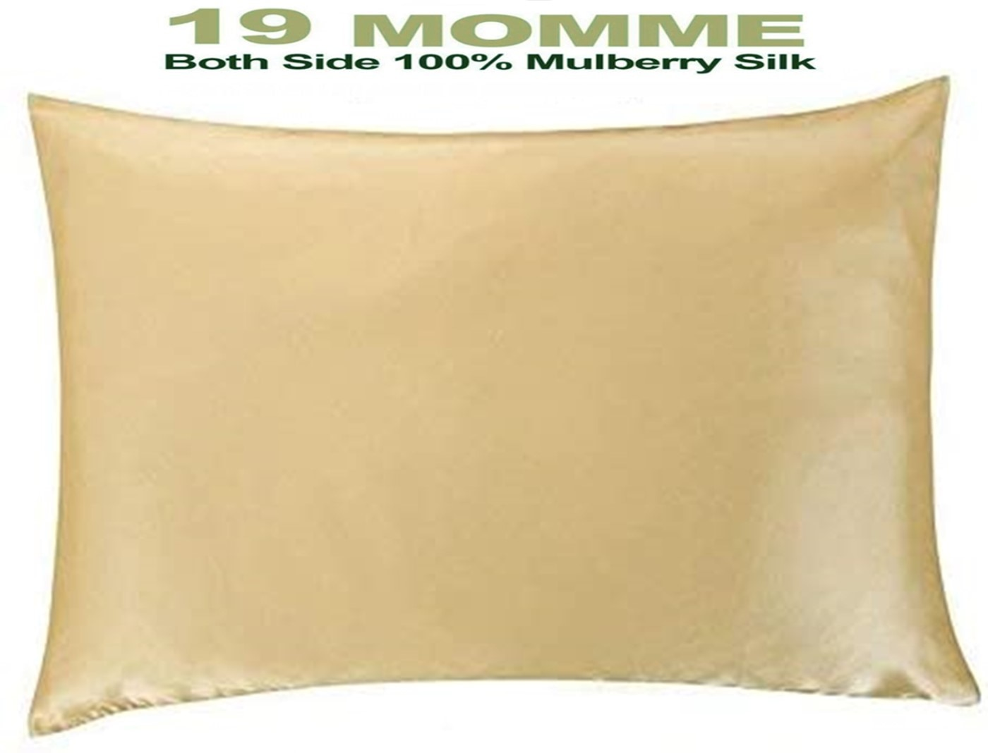 غطاء وسادة من حرير التوت الطبيعي ، غطاء وسادة بسحاب ، صحي قياسي queen king ، متعدد الألوان 22 ، 100%