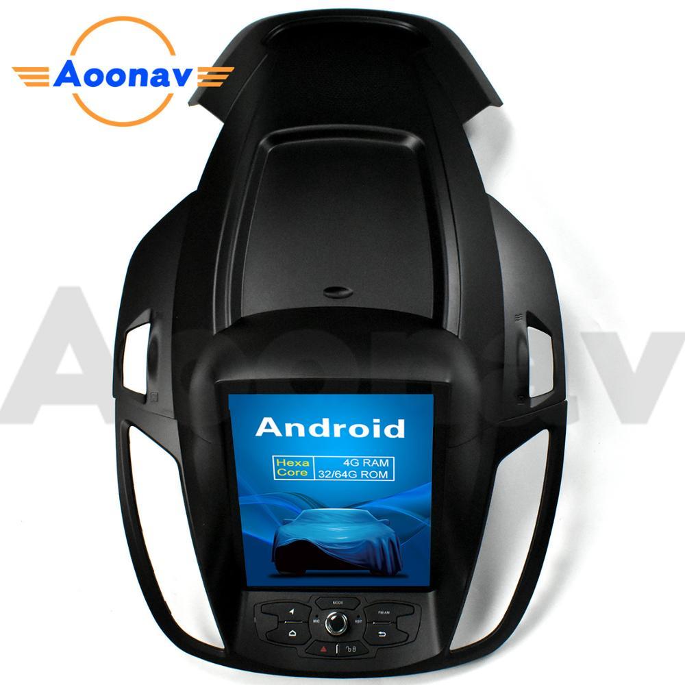 AOONAV vertical screen forFord kuga 2013-2018 10.4 inch Multimedia player car GPS radio DVD player Tesla style car video