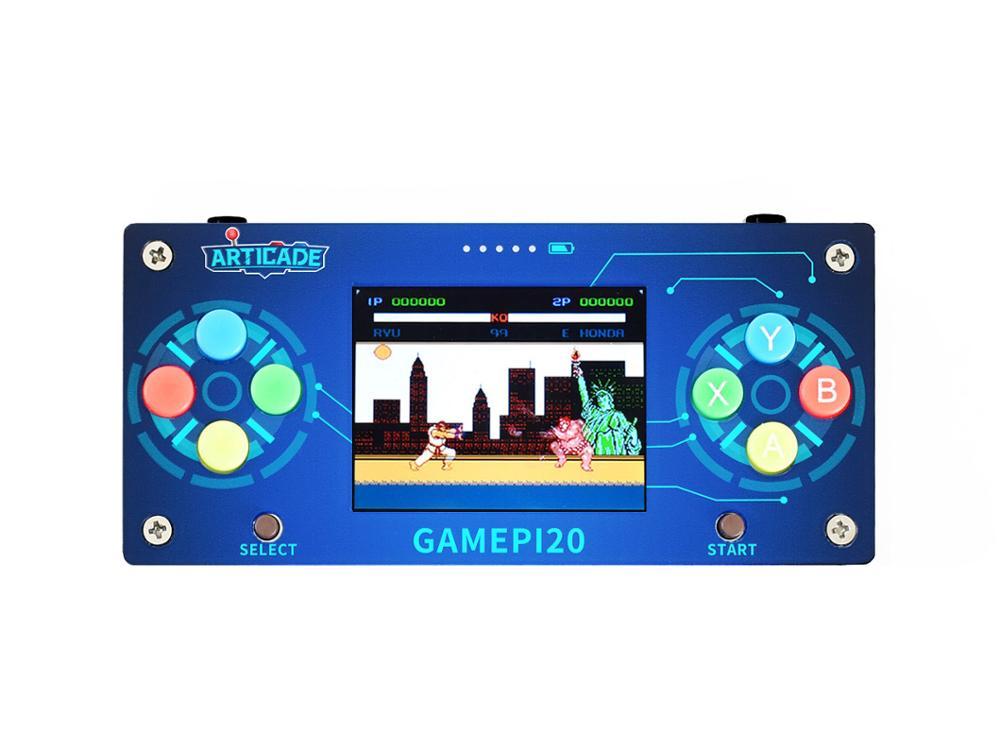 Waveshare, accesorios GamePi20, complementos para Raspberry Pi Zero / Zero W / Zero WH para construir el GamePi20