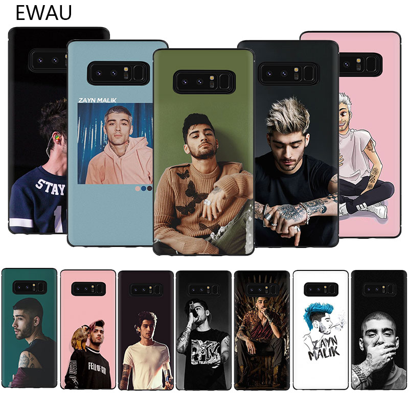 Zayn Malik EWAU Macio TPU Case Capa Do Telefone Para Samsung Galaxy A3 A5 A6 7 8 9 2018 A10S 20S 70 60 50 40 30S S S
