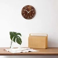 12 inch luminous wall clock wood silent light in dark night nordic fashion wall clock non ticking clock with night light gift