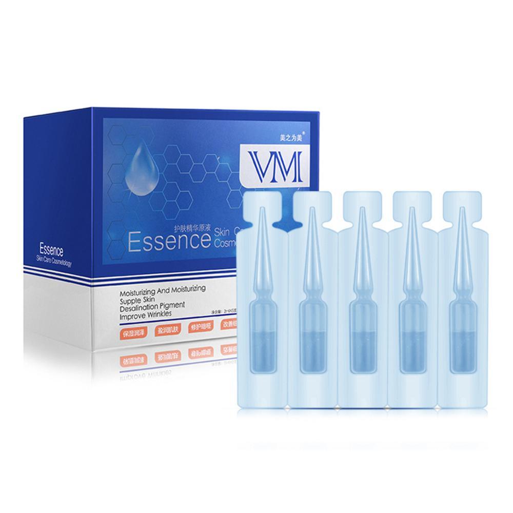 Tratamiento para el acné, Corrector de la piel, ácido hialurónico, Solución de nicotinamida, aclara la piel suave, destiñe las líneas finas, suero facial antienvejecimiento