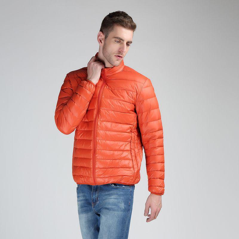 Новинка 2021, Мужская осенняя куртка, ветровка, повседневная мужская парка в полоску, однотонная верхняя одежда, зимняя куртка, Мужское пальто...