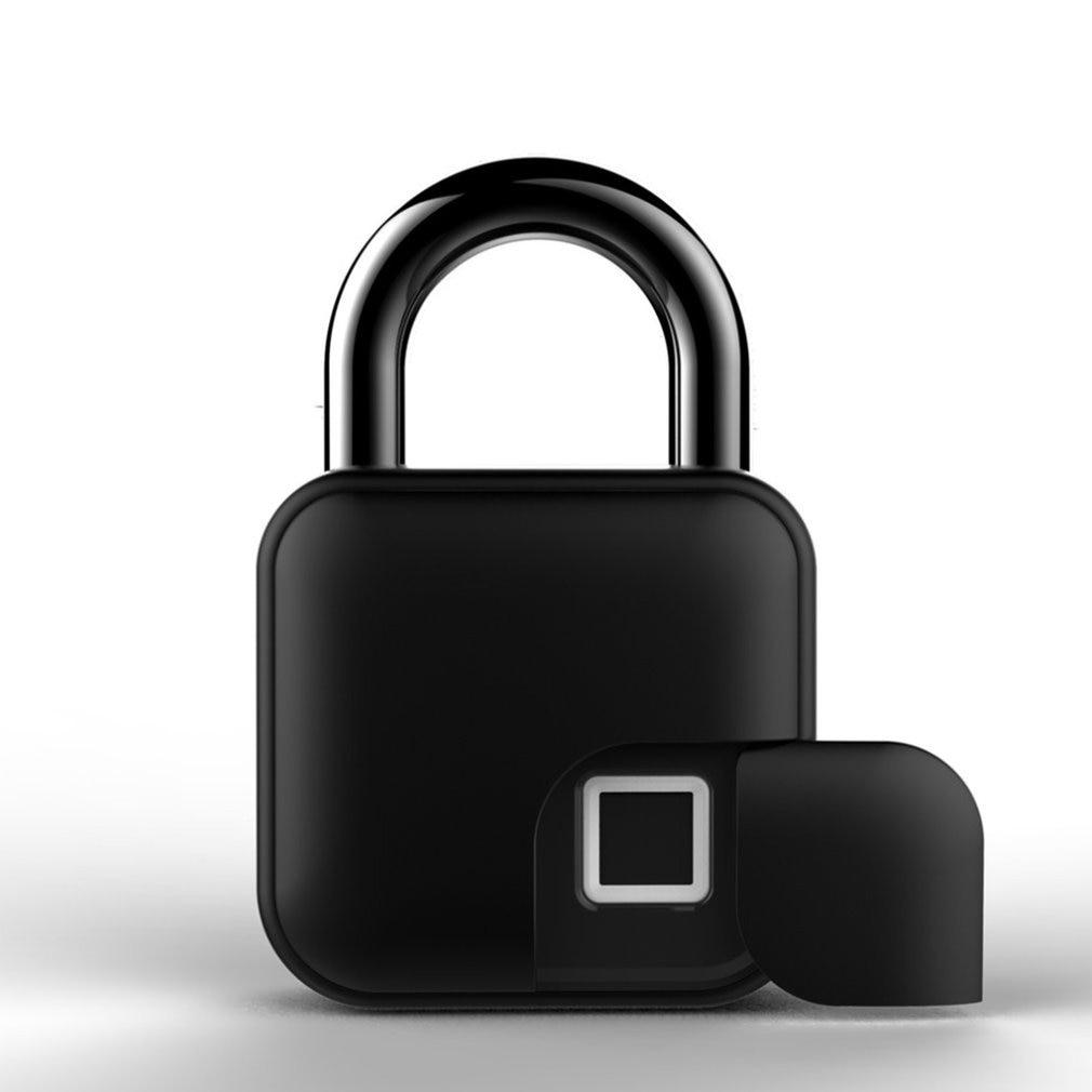 L3 الذكية بصمة قفل بدون مفتاح قابلة للشحن سريعة فتح قفل الباب المعادن الذاتي تطوير رقاقة قفل الأمتعة