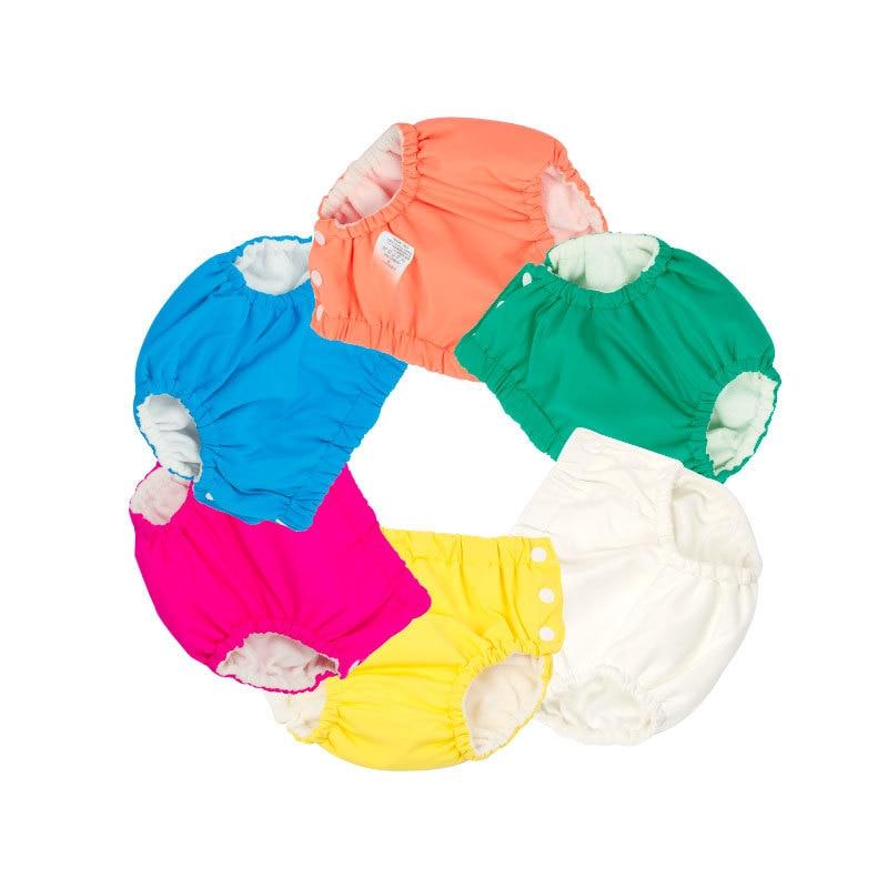 Детские водонепроницаемые плавки для подгузников, одежда для плавания, плавки, шорты для бассейна, штаны для маленьких мальчиков и девочек