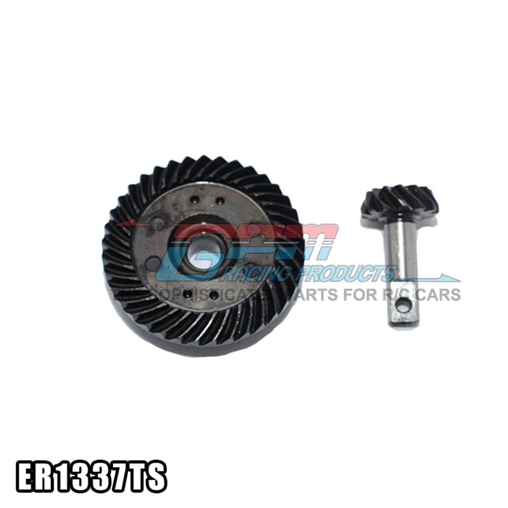 Hard Steel Differential Helical Gear Sets For Rc Car Big E S E-MAXX SLASH 4X4 Off Road Buggy Diy Accessories Parts enlarge