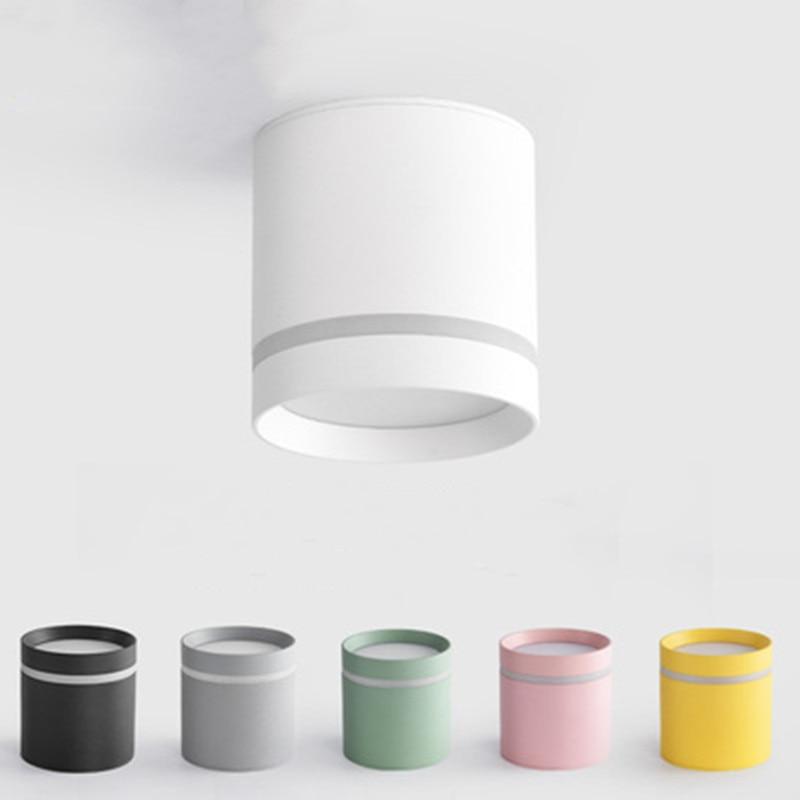 Luces LED empotradas de cilindro regulable, 7W, 12W, COB, foco de techo,...