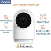 Aqara hub G2H caméra intelligente 1080P HD passerelle édition Vision nocturne Mobile pour Apple HomeKit APP Zigbee sécurité à domicile 4 couleurs