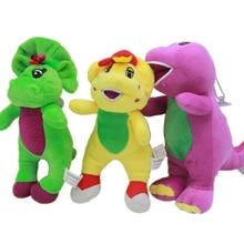 Dinosaur Barney children plush toys cartoon doll kid baby Stuffed toys birthday gift 3pcs/lot