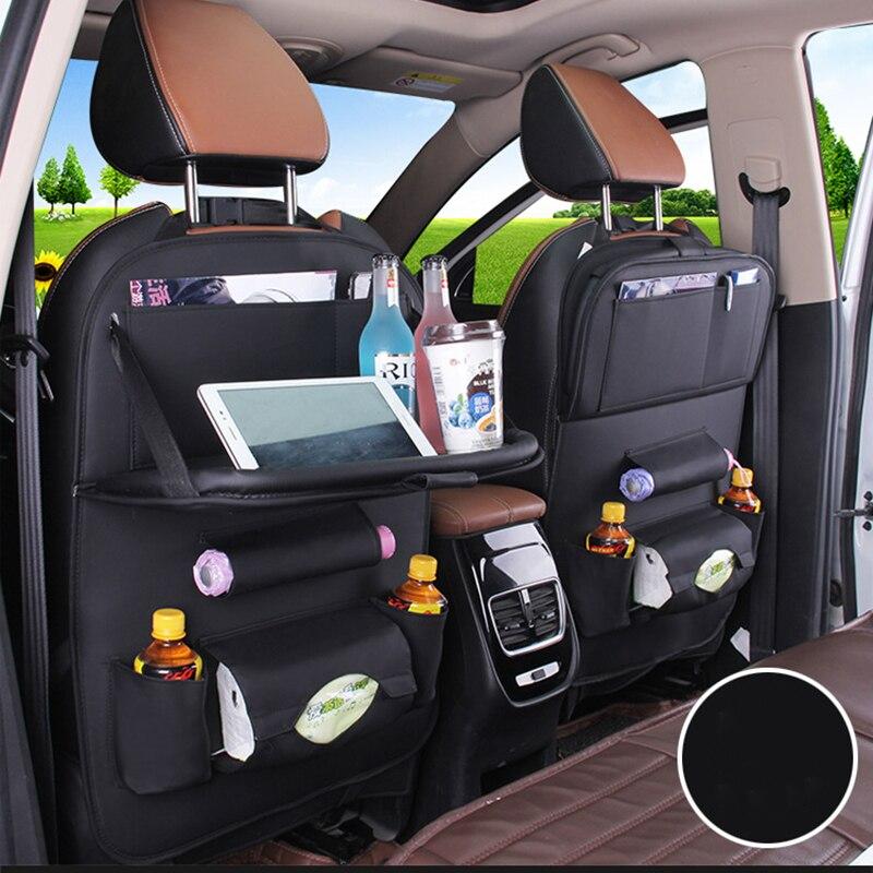 Чехлы на автомобильные сиденья, модные Многофункциональные Чехлы для хранения на заднее сиденье, для покупок