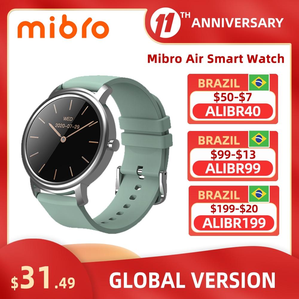 Mibro Air Smart Watch Android IOS Fitness Watch IP68 Waterproof Bluetooth 5.0 Sleep Monitor Heart Rate Tracker SmartWatch