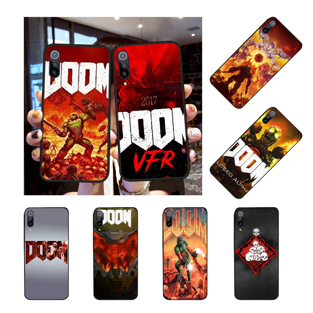 NBDRUICAI cráneo del juego Doom cliente funda de teléfono de alta calidad para Redmi Nota 8 8A 7 6 6A 5 5A 4 4X 4A ir Pro Plus primer