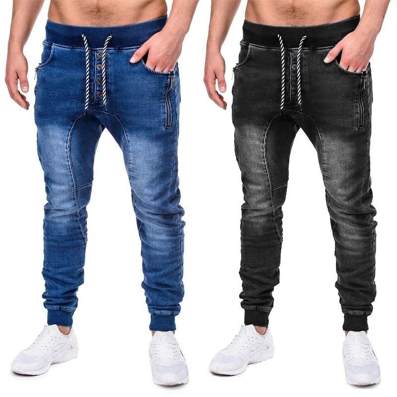 Джинсы для мужчин облегающие брюки классические 2021 джинсы мужские джинсы дизайнерские брюки повседневные обтягивающие прямые эластичные ...