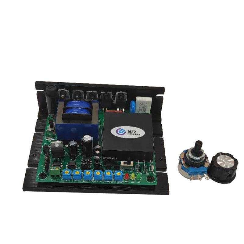 جهاز التحكم في سرعة المحرك ، إدخال مضاد للتدخل 115/230VAC ، مخرج 90v/180VDC SCR DC لجهاز تحديد المواقع