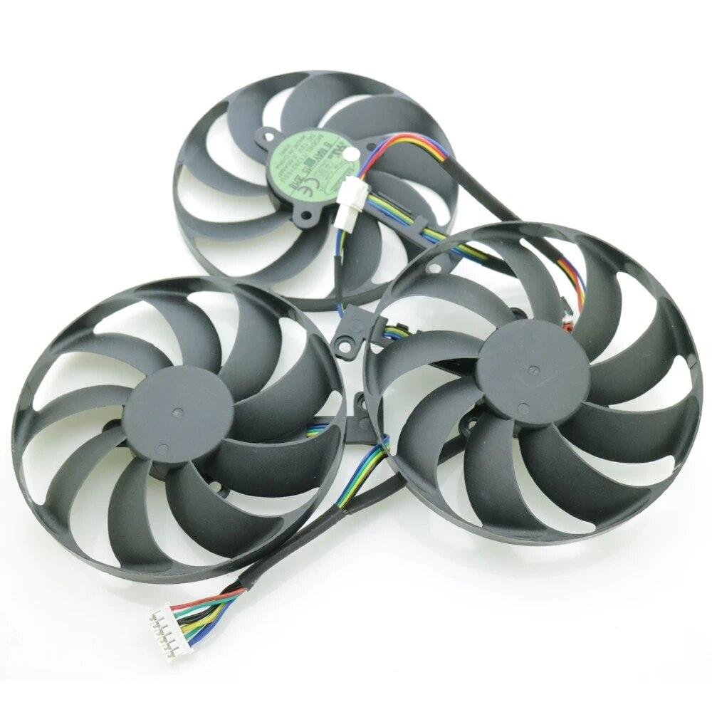 T129215SU 12V 0.5A 88mm For ASUS ROG STRIX-RTX 2070 2070S 2080 RTX2080 RTX 2080ti SUPER Graphics Card Cooling Fan
