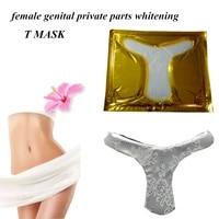 5pcslot genital t mask female private part nourishing vaginal whitening mask vagina antibacteria genital tender essence mask