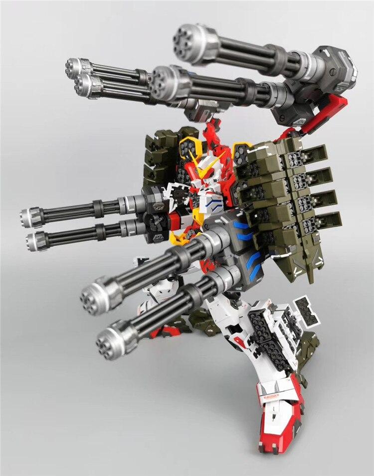CXX Supernova MGTV Igel Unit XXXG-01H2 Gundam Heavyarms Custom kit MG 1/100 action figure assembly Model