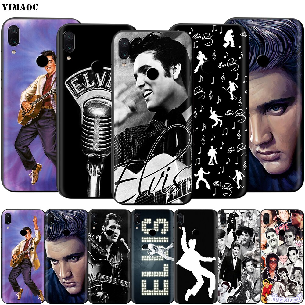 YIMAOC Elvis Presley suave TPU caso para xiaomi redmi mi nota MAX 3 6 6A 7 mi 6 mi 8 9 se a1 a2 Pro Lite ir pocophone f1