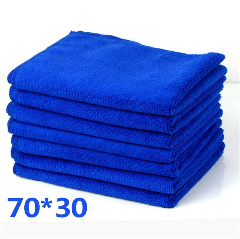 Microfibre Wipe Dry Cleaner Hair Face Bath Hand Towel Auto Car Detailing Soft Cloths Wash Towel Duster