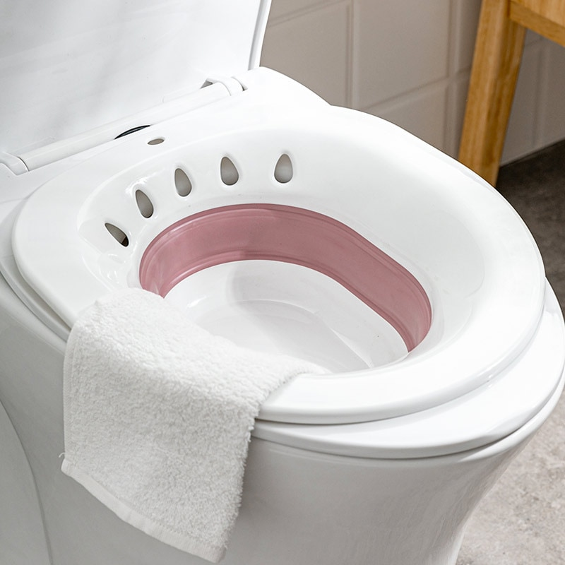 Pregnant Bidet Folding Pregnant Women Bidet Bath Hip Care Shower Bathroom Washbasin Acne Toilet Butt Basin Potty New