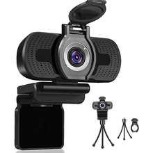 HD 1080P веб-камера с микрофоном Вращающийся USB веб-камера для прямые трансляции компьютерная веб-Камера конфиденциальности Cam Видео Запись раб...