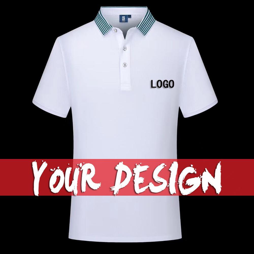2020 Summer Cheap Short Sleeve Logo Custom Company Group Polo Shirt Logo Embroidered Top
