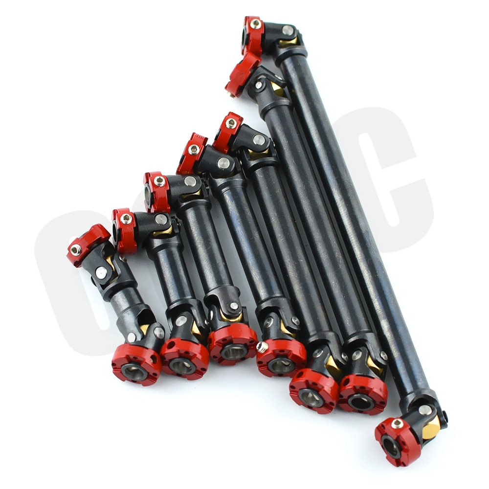 Metal Flange Head Transmission Shaft CVD For 1/14 Tamiya RC Model Truck ACTROS MAN Hino Scania 1/10 TRX4 D90 SCX10 Upgrade parts enlarge