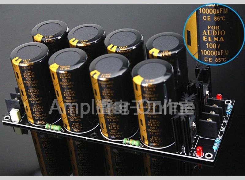 1 قطعة 100 فولت 10000 فائق التوهج 120A مكبر للصوت المعدل تصفية امدادات الطاقة مجلس عالية الطاقة مقوم ثنائي مرشح مجلس الطاقة AP77