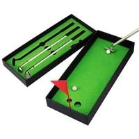 mini golf club pen set desk decoration ballpoint novelty gift