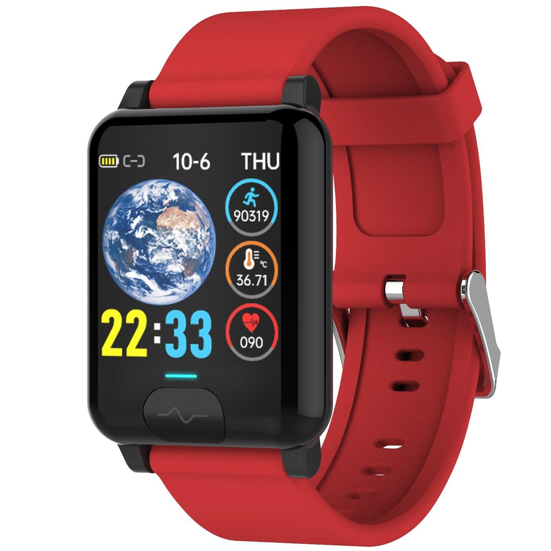 Monitor de Temperatura Ecg + Ppg Nssd Inteligente Relógios Relógio Pulseira Banda Fitness Multifuncional