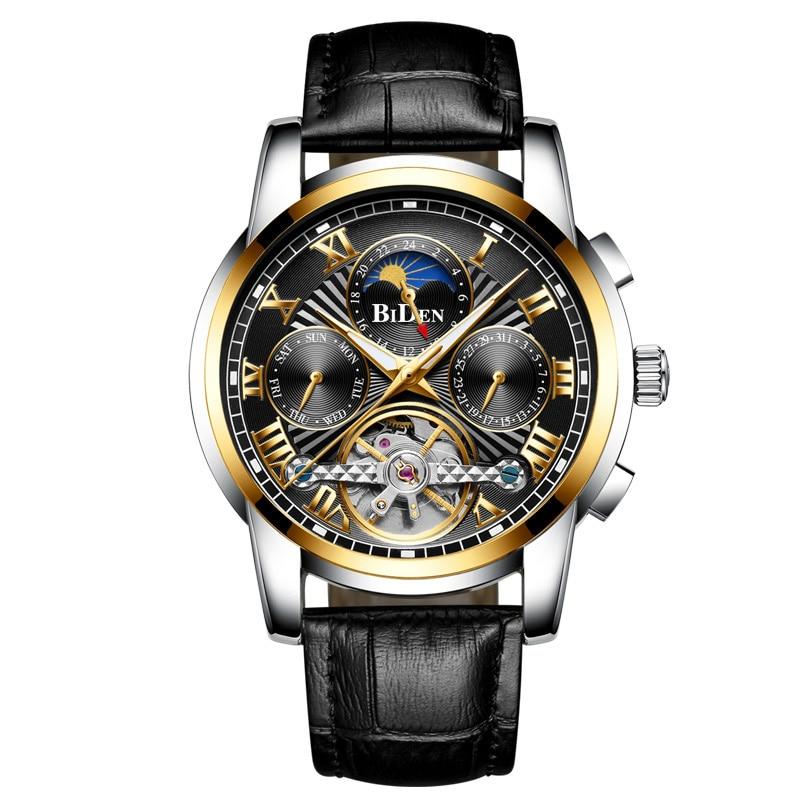 2020 мужские наручные часы Роскошные Орландо Мужские часы Мужские наручные Модные часы мужские часы из нержавеющей стали