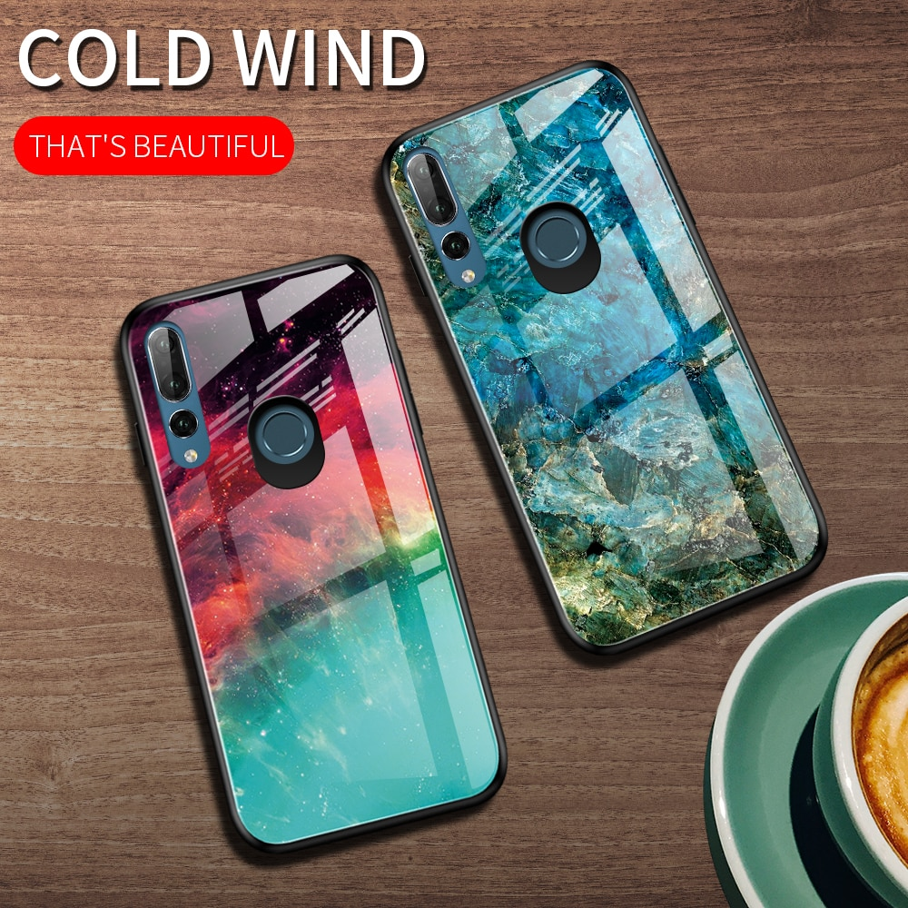 Для Huawei P30 P20 Lite Y9S Y6 Y9 Prime 2019 Nebula чехол из закаленного стекла для Honor 8A Prime 10i 9X Premium 20 10 Lite Pro