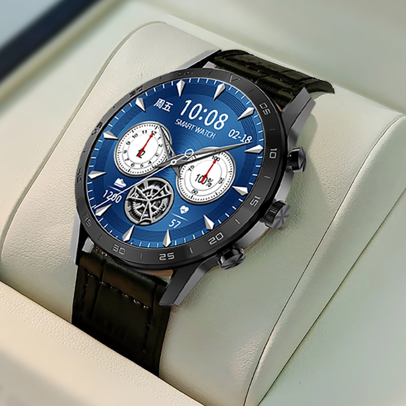 OIMG ساعة ذكية للرجال تعمل باللمس الكامل الرياضة اللياقة البدنية تعقب IP67 مقاوم للماء النساء ECG BP معدل ضربات القلب Smartwatch للهاتف شاومي هواوي