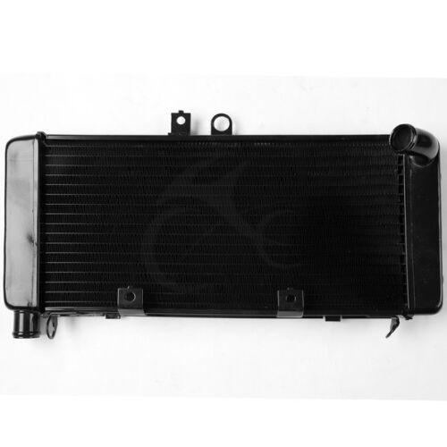 Enfriador de radiador de aluminio negro de motocicleta para HONDA CB900 CB919F HORNET900 2002-2007