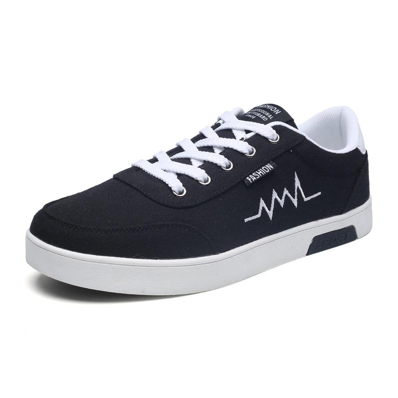 Nuevo estilo primavera otoño hombres zapatos casuales zapatillas De moda ligeras hombres...