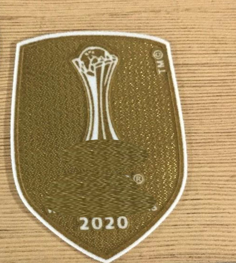 2020 Club Cup Champions Patch Soccer Badge