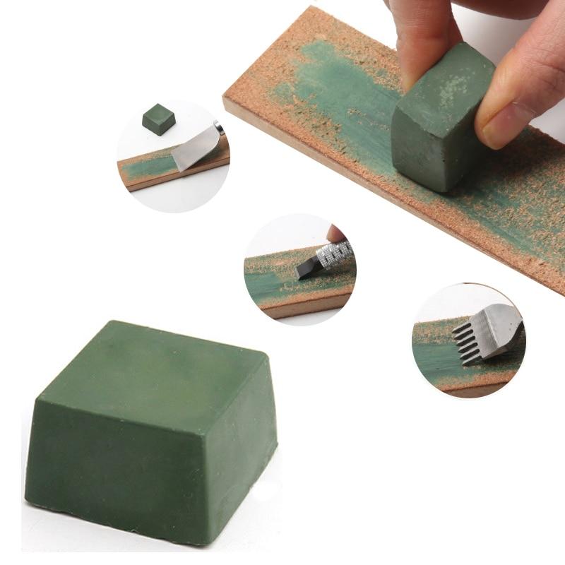 Csiszoló polírozó paszta, polírozó penge keverék, fém kés csiszoló polírozó paszta, zöld polírozó paszta