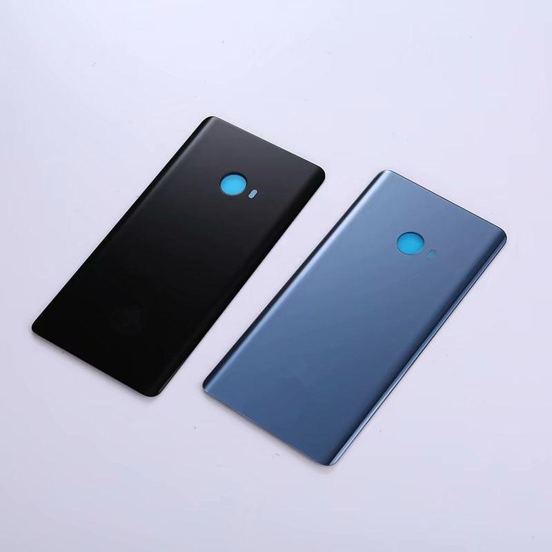 Funda trasera Original de Note2 para Xia mi Note 2, carcasa de vidrio para reparación de batería, reemplazo de carcasa trasera de teléfono + logotipo
