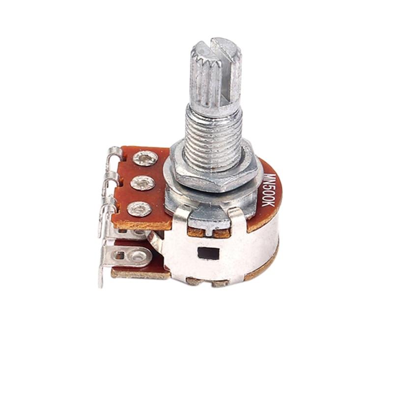 1Pc MN500K Dual Blend Balance Potentiometer(POT) Guitar Bass Volume Tone Control Switch