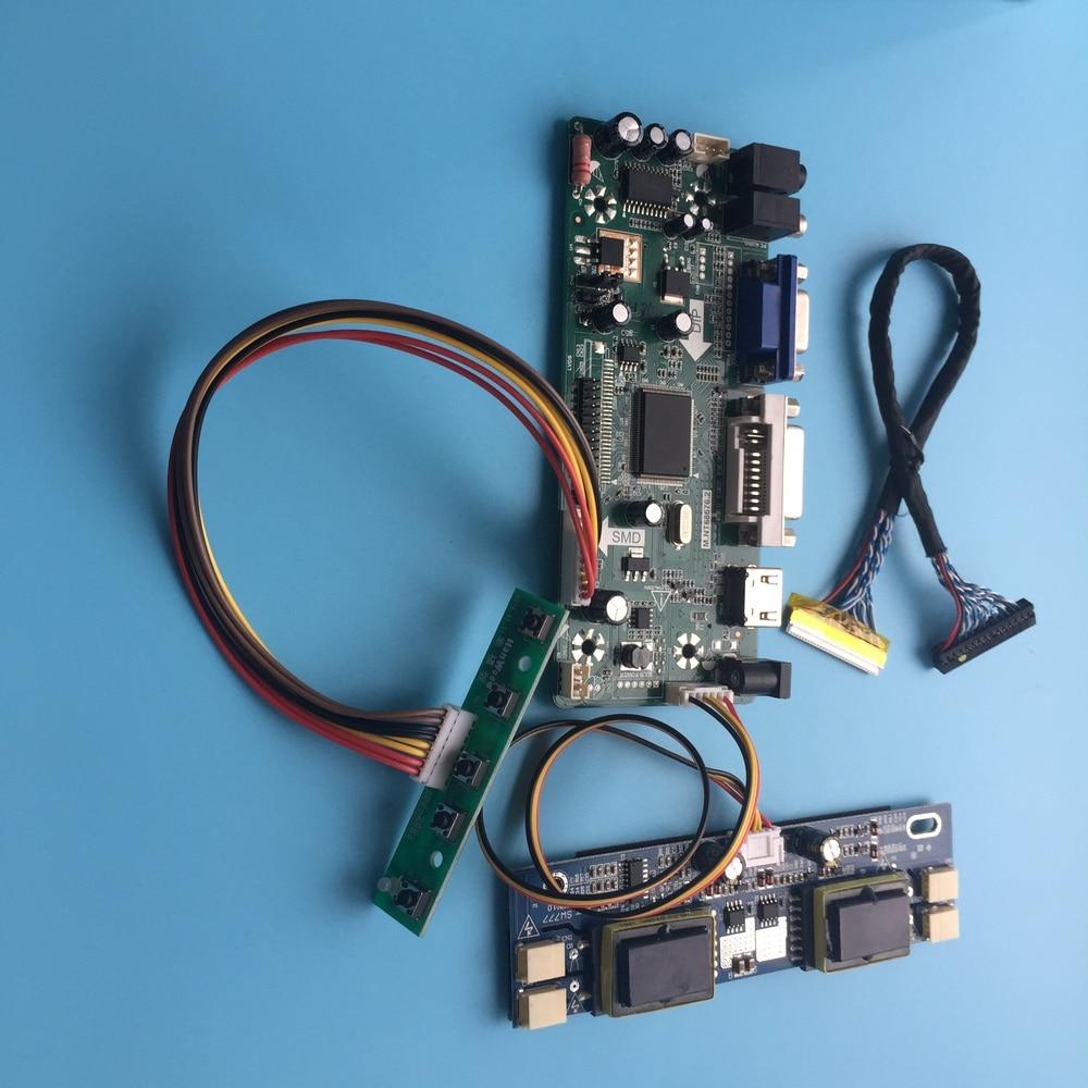 "Kit para mt190aw01 v.5 1440x900 19 ""30pin hdmi dvi lcd diy vga lvds led placa controlador m. nt68676 painel de tela"
