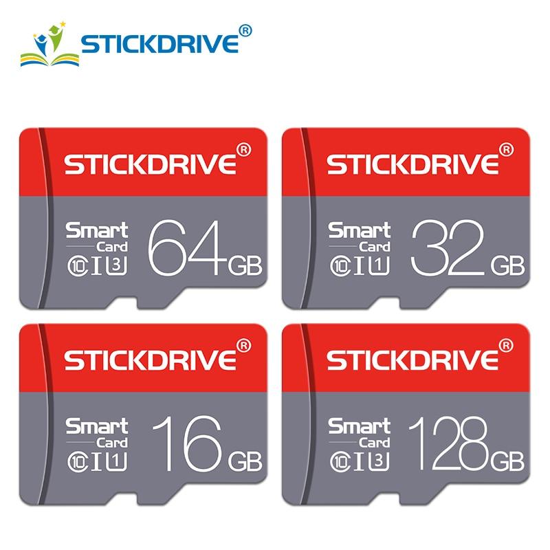 Real capacity Micro SD Memory Card 128GB 64GB 32GB 16GB 8GB 4GB Class 10 Memori Micro SD Card for Sa
