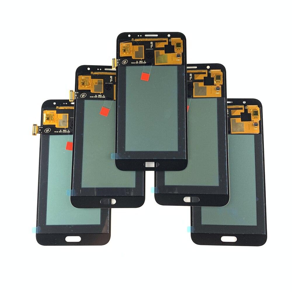 5 جزء/الوحدة Incell LCD لسامسونج J7 2015 J700 LCD شاشة تعمل باللمس محول الأرقام الجمعية لسامسونج غالاكسي J700 J700F شاشات الكريستال السائل