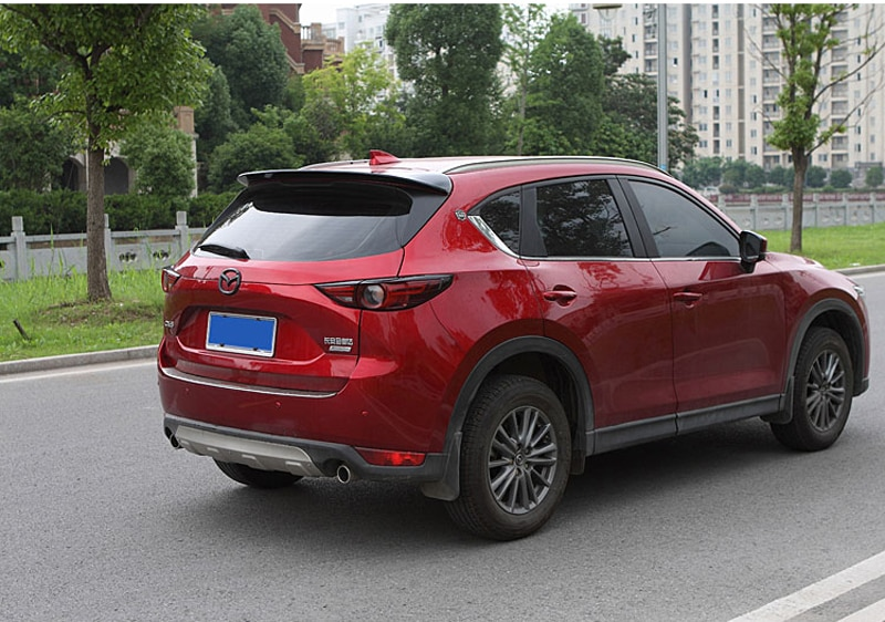 ABS plastic color rear roof spoiler tail luggage wing wing accessories for Mazda CX-5 CX5 2017 2018 enlarge