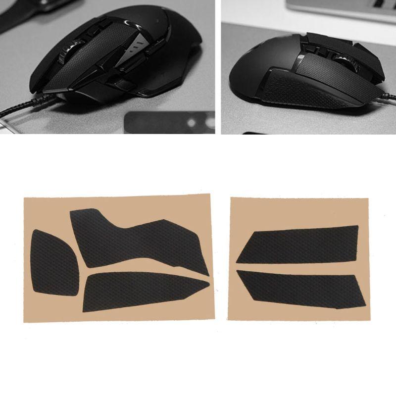 Patines de juegos originales Hotline, pegatinas laterales resistentes al sudor, con cinta antideslizante para logitech G502 Mouse X6HA