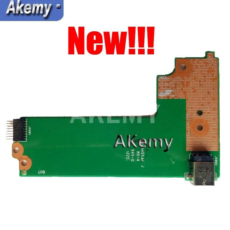 Amazoon Original para For Asus X75A X75V X75VD Placa de alimentación CC...
