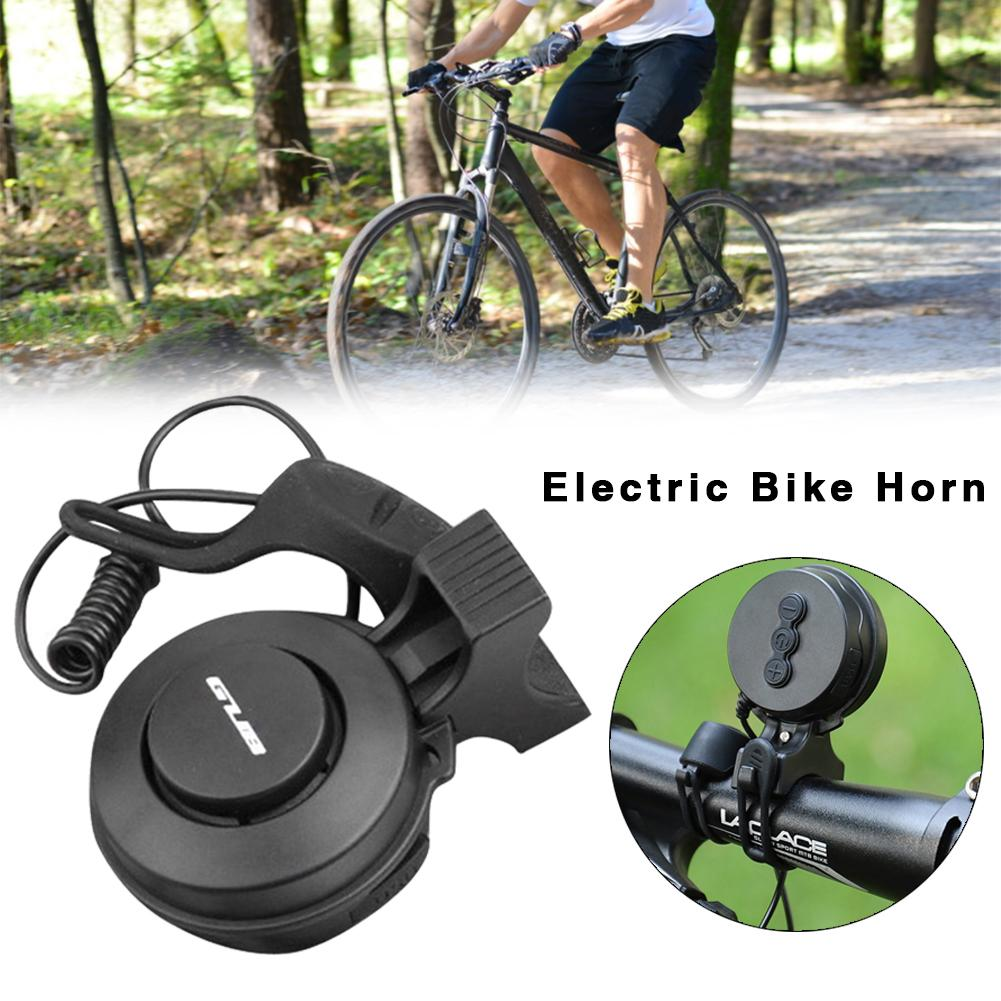 Campana eléctrica mejorada para bicicleta, claxon de bicicleta resistente al agua recargable vía USB, accesorios para bicicleta, patinete eléctrico