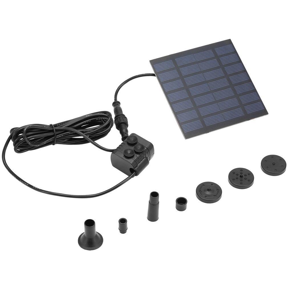 Nueva bomba de agua de energía Solar para exterior, profesional novedoso, jardín, plantas de sol, agua al aire libre, fuente de agua Bomba de piscina