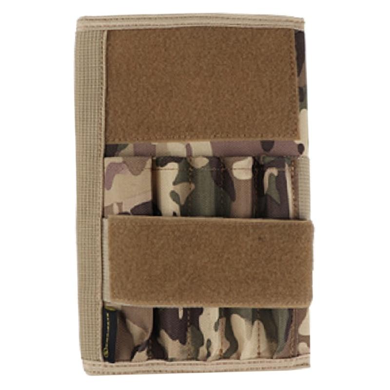 Mini pacote tático caneta saco notbook capa tático carteira saco de cartão ao ar livre militar saco da cintura para a caça zj