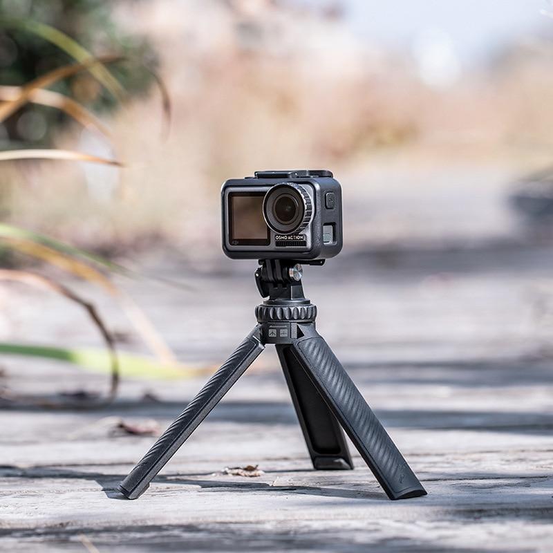 PGYTECH T2 Tirpod-Selfie Stick ، لـ DJI Ronin SC/S ، مقبض Gimbal Osmo Action Gopro Insta360 ، زاوية الكاميرا الرياضية ، حامل قابل للتعديل