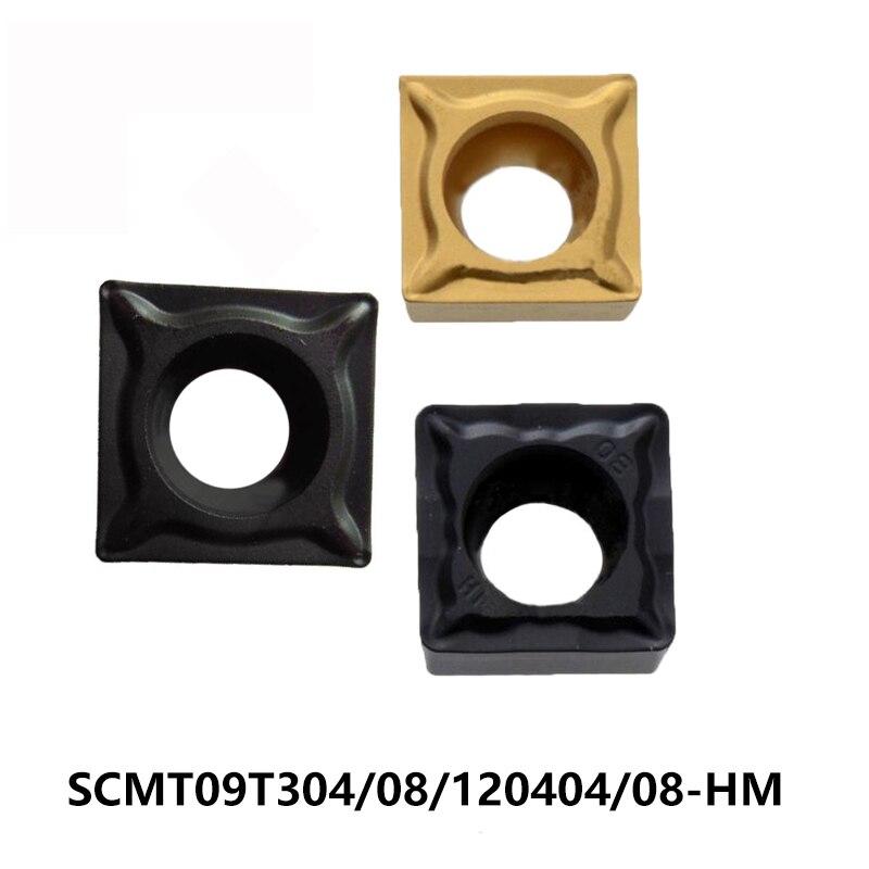 ZCC tomografía torno de SCMT09T304-HM SCMT09T308-HM SCMT120404-HM SCMT120408-HM YBC251 YBC252 SCMT 09T308 120408 insertos de carburo CNC